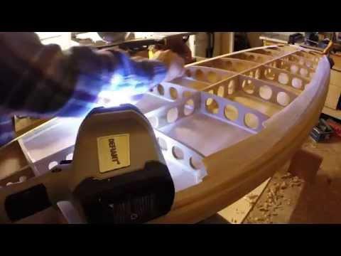 Grain Surfboard Build - Part 4, Building the rails