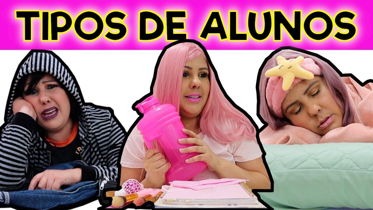 TIPOS DE ALUNOS VOLTANDO PARA AS AULAS PRESENCIAIS