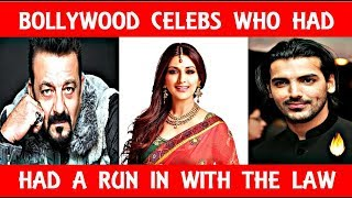 7 Bollywood Celebrities Who Had A Run In With The Law