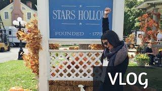 Vlog: Um passeio por Stars Hollow | Tour do set de Gilmore Girls COM O LUKE