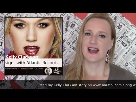 Kelly Clarkson plans new phase in career, without RCA records (Nora Tol Newsroom Item)