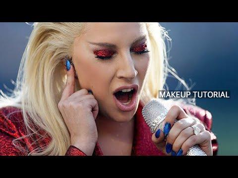 LADY GAGA Super Bowl 50 Inspired Makeup Tutorial
