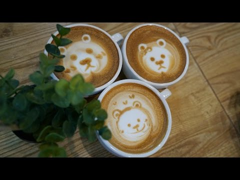 Bear family :: Latte Art