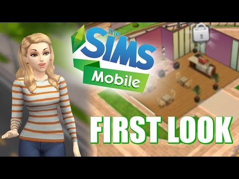 Sims Mobile | First Look Gameplay