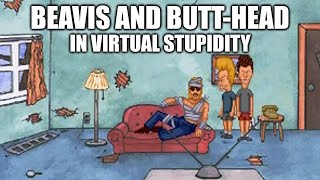 Beavis and Butt-head in Virtual Stupidity playthrough