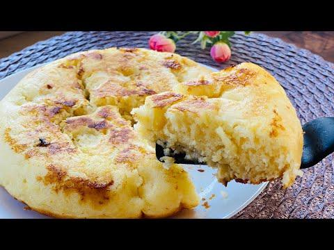 gâteau-avec-1-œuf-à-la-poêle.-une-recette-très-populaire