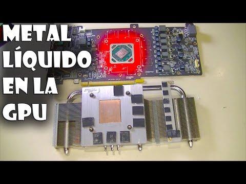 🔥🌋 Cambiar PASTA TÉRMICA por METAL LÍQUIDO en una TARJETA GRÁFICA GPU
