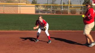 Corrective Video: INFIELD - FOOTWORK TO THROW