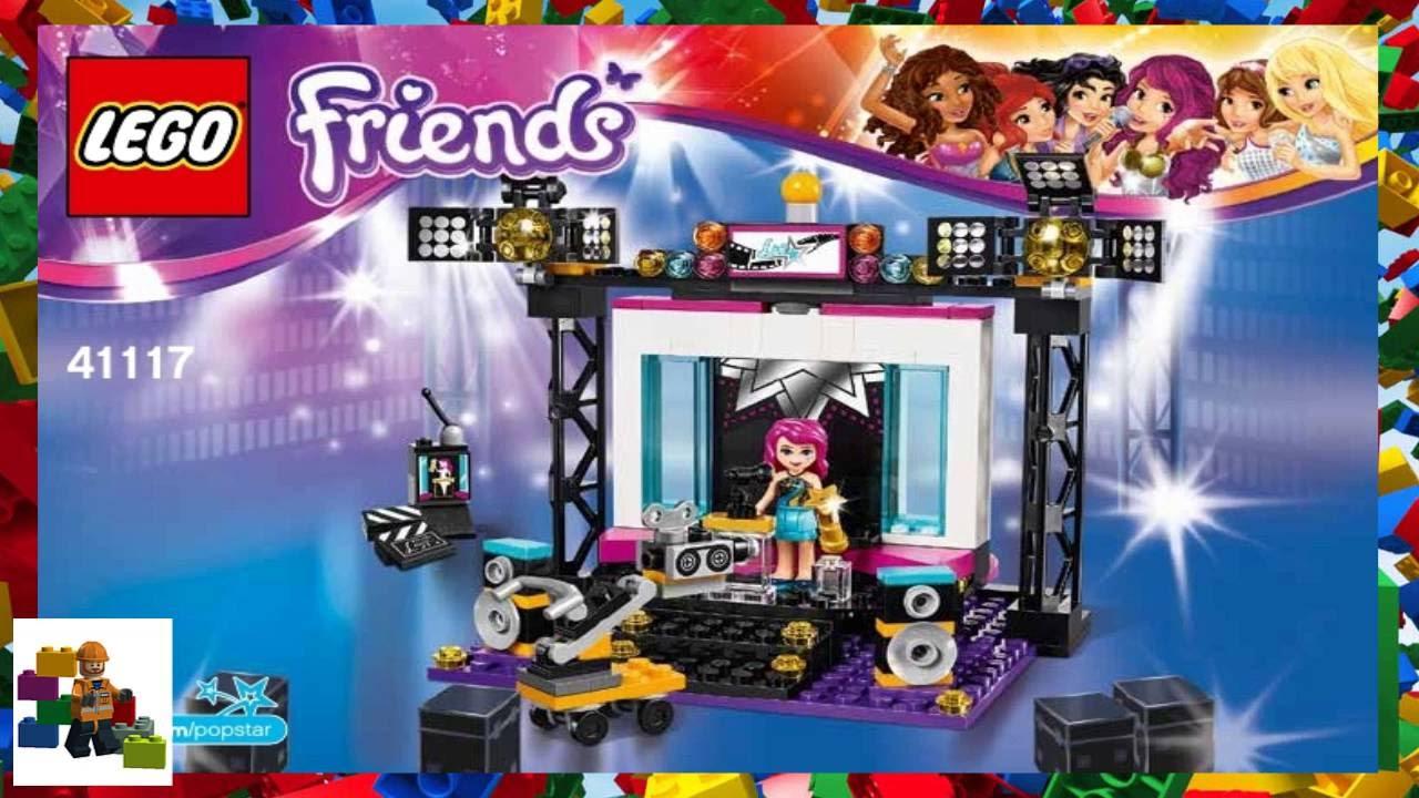 LEGO instructions - LEGO Friends - 41117 Pop Star TV ...