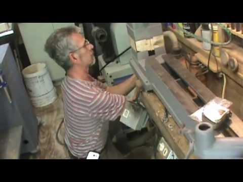 "Woodturning Add riser blocks to a 12"" Delta lathe"