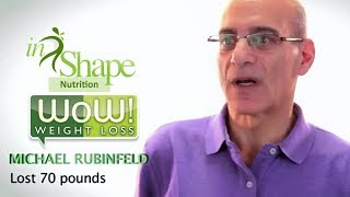 InShape Nutrition - Success Stories WOW! Weight Loss Programs