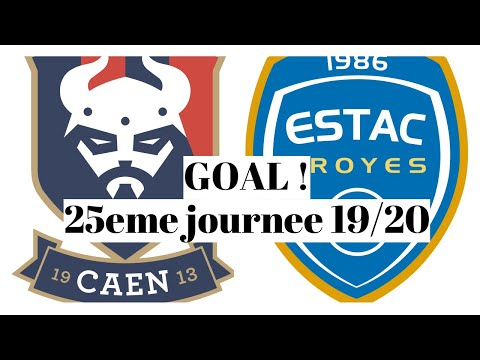 Caen Troyes Goals And Highlights