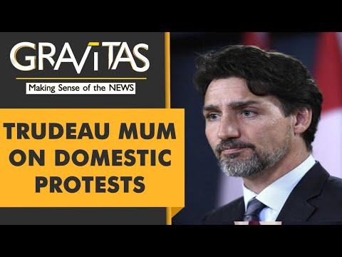 Gravitas: Canadian cops thrash the homeless, Trudeau silent
