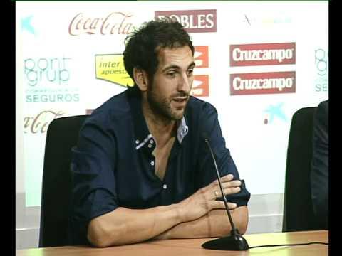 Declaraciones de Diego López en su presentación 28 05 12 Sevilla FC