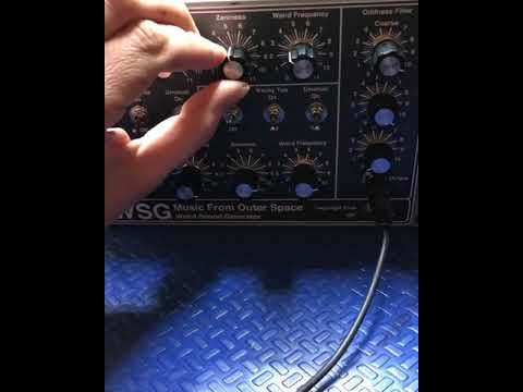 MFOS WSG WEIRD SOUND GENERATOR Music From Outer Space