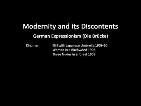 A history of modern art in 73 lectures: lecture 39 (German E