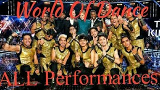 THE KINGS all dance performances in World Of Dance❤