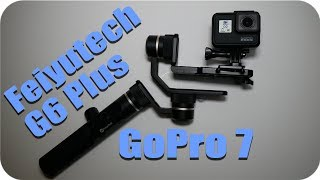 Стабилизатор Feiyutech G6 Plus с экшн-камерой GoPro Hero 7 Black