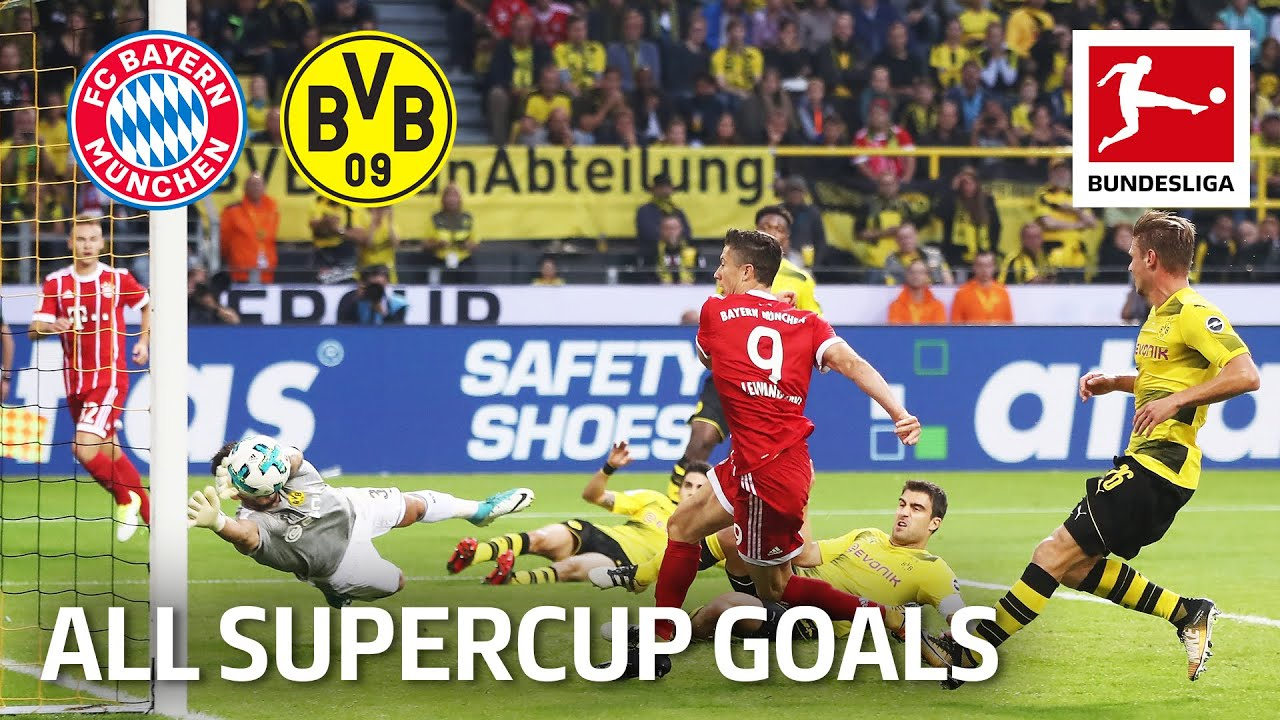 Download FC Bayern München vs. Borussia Dortmund | All Supercup Goals