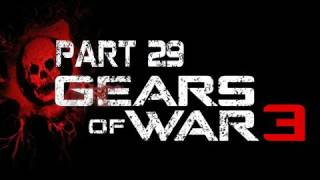 Gears of War 3 Walkthrough Part 29 [Act 4 Chapter 5]  Bon Voyage Let's Play