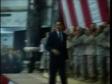 Obama Surprises Iraq Troops