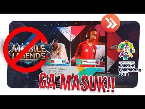 SEPI PEMAIN! INI 4 ALASAN MOBILE LEGENDS TIDAK MASUK ASIAN GAMES 2018