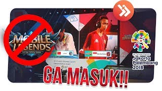Download Video SEPI PEMAIN! INI 4 ALASAN MOBILE LEGENDS TIDAK MASUK ASIAN GAMES 2018 MP3 3GP MP4