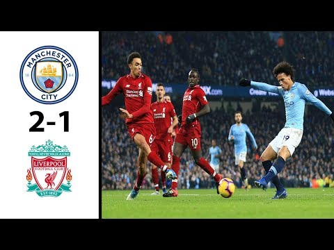 Manchester City vs Liverpool 2-1 Highlights \u0026 All Goals 2019