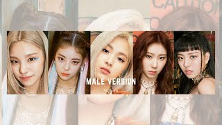 ITZY - Not Shy English Ver. [Male Version]