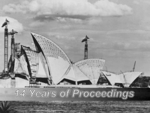 Sydney opera house building construction