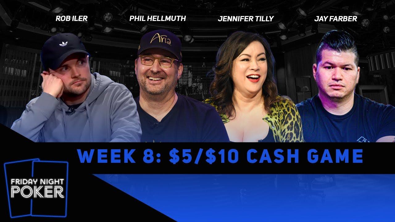 Download Friday Night Poker   Phil Hellmuth, Jennifer Tilly & Rob Iler   Week 8