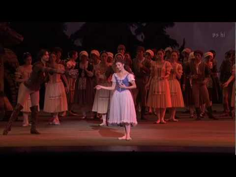 Giselle: Giselle's death (Alina Cojocaru, Manuel Legris)