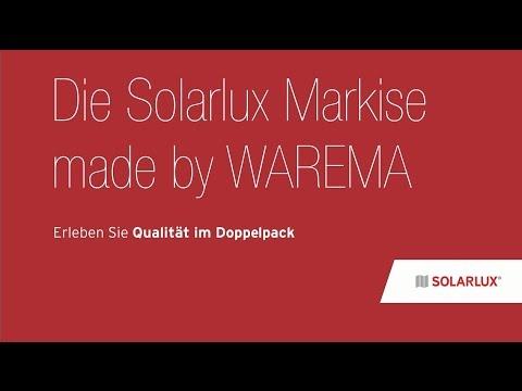Montage Der Solarlux Markise Made By Warema Youtube