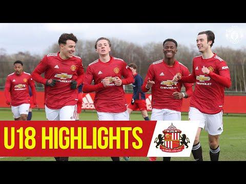 U18 Highlights   Manchester United 6-0 Sunderland   The Academy