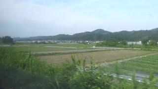 《HD車窓》山形新幹線 つばさ137号 山形~新庄