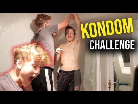 Kondom Challenge!!