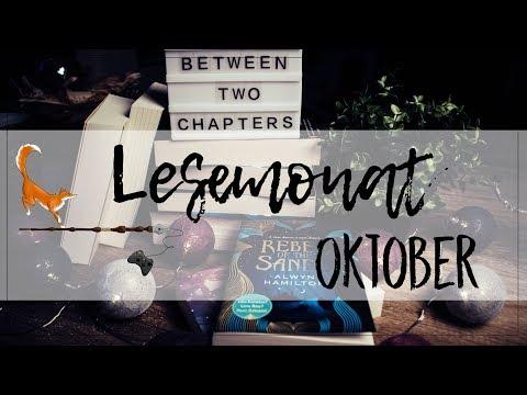 Meine gelesenen Bücher im Oktober!