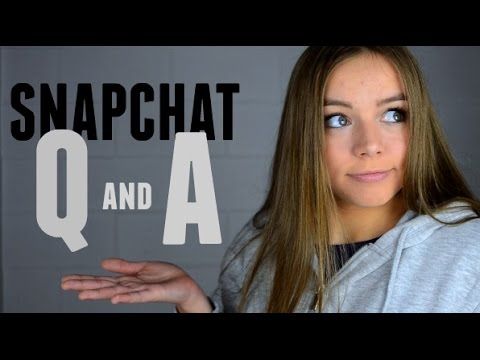 SNAPCHAT Q & A | Getting Pulled Over By The Police?