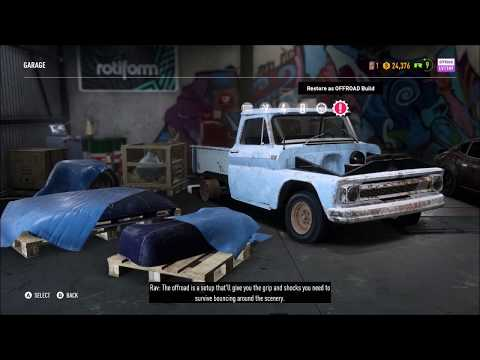 1965 Chevrolet C10 Stepside Pickup Derelict Car Part Locations - Need For Speed Payback