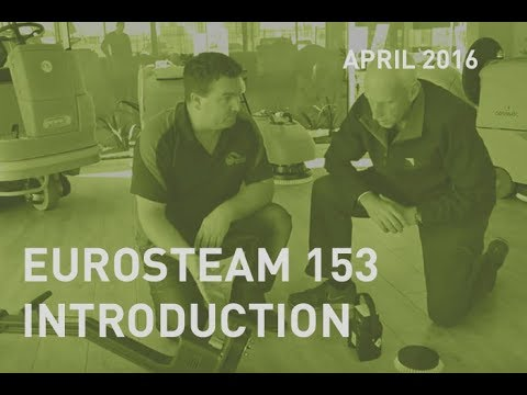 Eurosteam 153 introduction with CMC and Central Cleaning Supplies