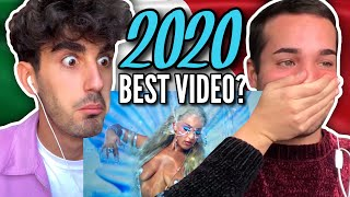 ITALIANS React 🇮🇹 Ozขna x Doja Cat x Sia - Del Mar (Video Oficial)