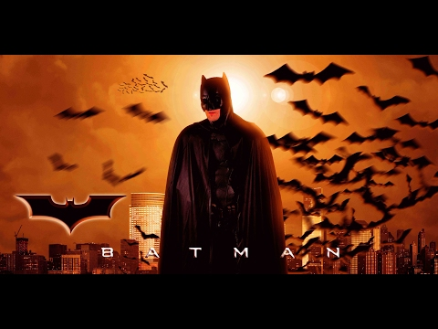 how to make batman movie poster | photoshop manipulation tutorial