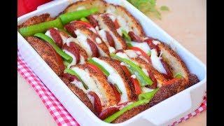 Kahvaltılık Nefis Simit  Kebabı ( Bayat  simitleri değerlendirmenin en nefis yolu)