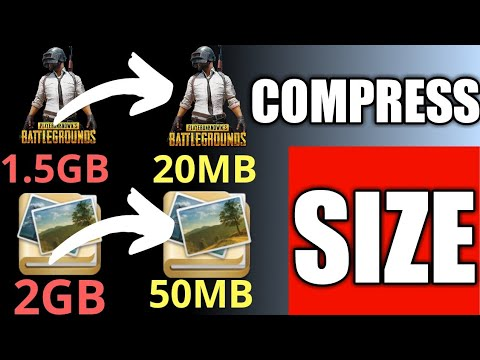 How To Compress Video File And Application Size🔥🔥