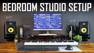 My PERFECT Bedroom Studio Setup 2021 - Music Studio Setup & Essentials