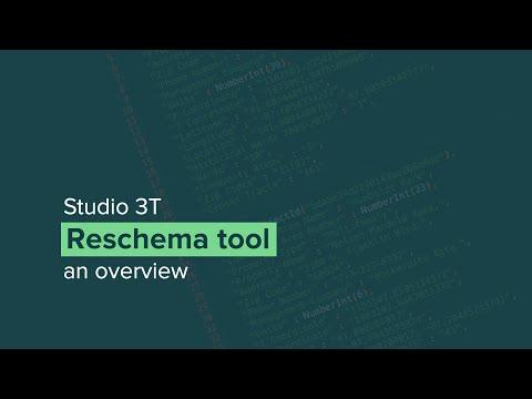 Reschema: The MongoDB migration and schema maintenance tool in Studio 3T