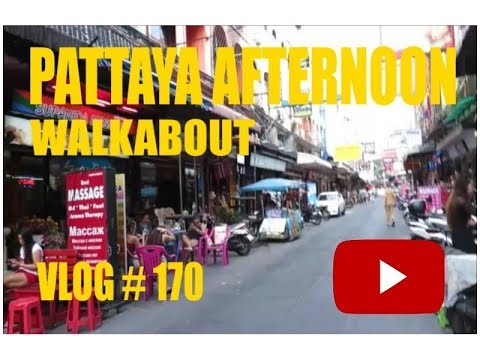 Pattaya Afternoon Walkabout Pattaya Thailand