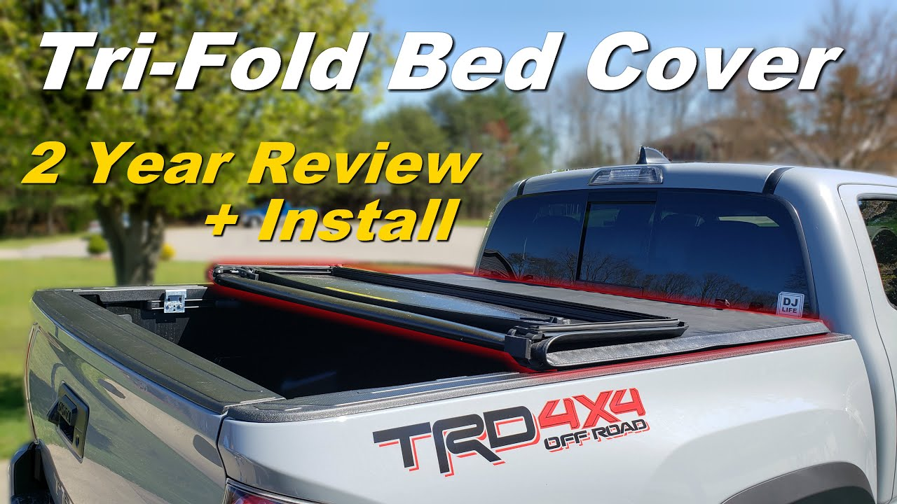 Gator Tri Fold Tonneau Cover 2 Year Review Install Best Tacoma Mod Youtube