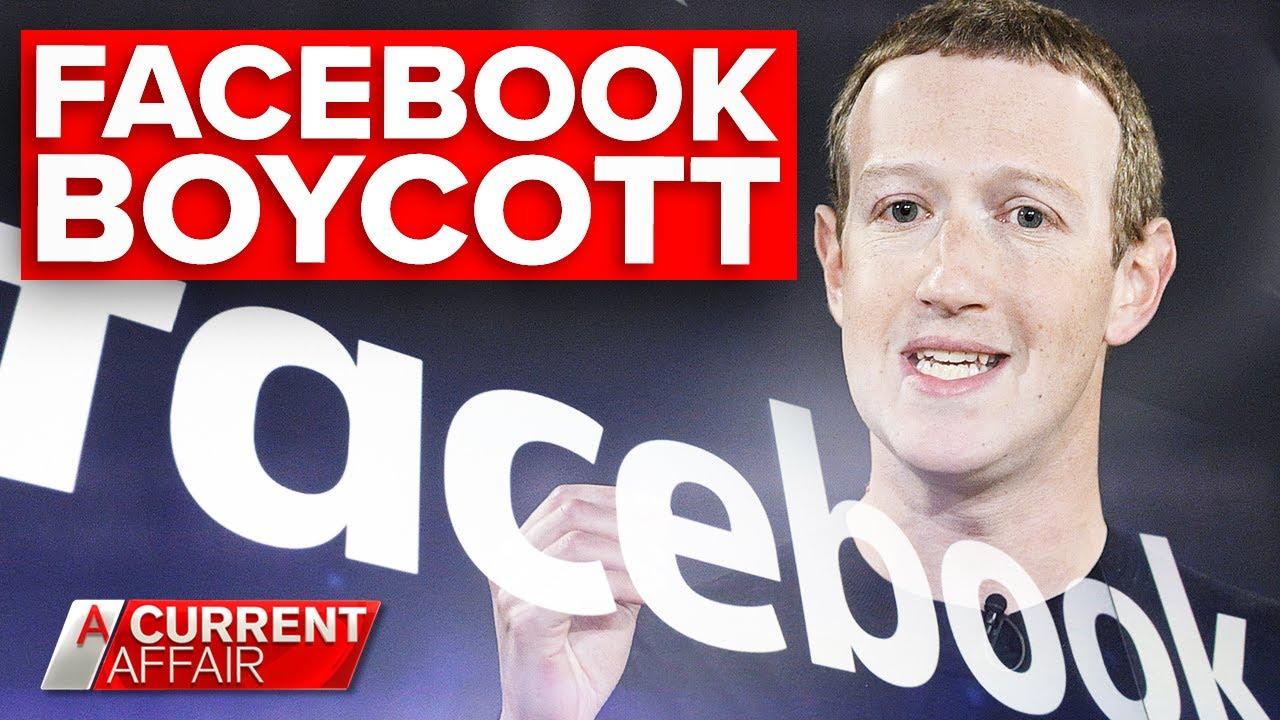 Companies boycott Facebook for failing to control hate speech | A Current Affair