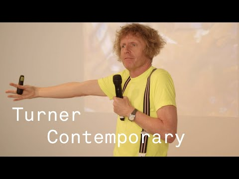 Grayson Perry Talks at Turner Contemporary 2015